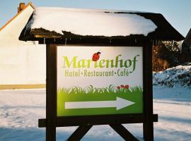 Hotel Marienhof, Burg Stargard