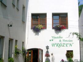 Penzion a Vinoteka Hrozen, Kroměříž