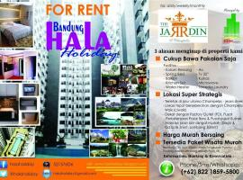Bandung Hala Holiday at The Jardin Apartments