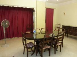 Al Zahraa' Two-Bedroom Apartment, Iszmáilija