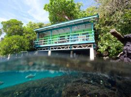 Lusia's Lagoon Chalets, Salelologa