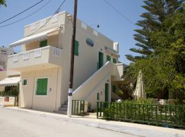 Mirtini Apartments, Myrtos