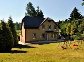 Vila Vlčí Hora, Krásná Lípa