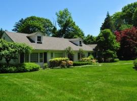 Elegant Home on an Acre of Rolling Lawns, Greenwich
