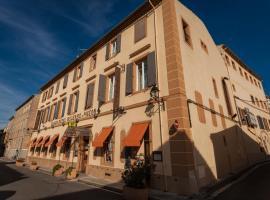 Logis Hotel Moderne Et Pigeon, Limoux