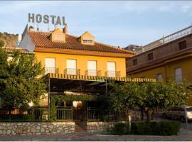 Hostal Villega, Pizarra