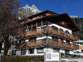 Hotel Vajolet, Mazzin