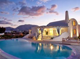 La Maison Private Villa, Monólithos