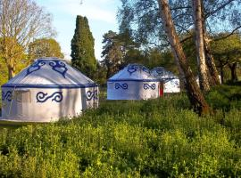 Plush Tents Glamping, Chichester