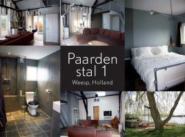 Complete Private House With Free Parking And Wifi, Weesp