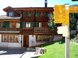 Apartment Studio Tambour 2, Rossinière
