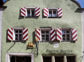 Hotel-Gasthof Goldener Greifen, Rothenburg ob der Tauber