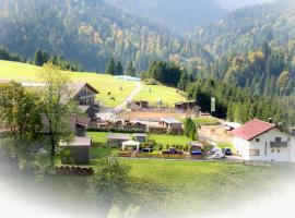 Reiterhof Berggut Gaicht, Nesselwängle
