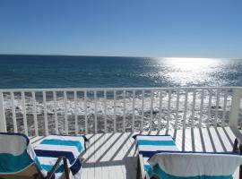 Three Bedroom House on the Beach with Ocean View, Malibu