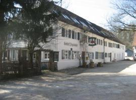 Waldhotel Ziegelstadel, Augsburg