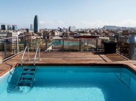 The 30 best hotels places to stay in barcelona spain for Pool show barcelona