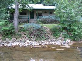 Creekside Hideaway Cottage, Waldens Creek