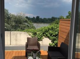 Apartment 'Rheinblick' mit grosser Terrasse, Mainz