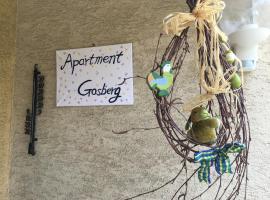 Apartment Gosberg, Pinzberg