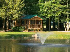 Alpine Lake Lakefront Cabin 5, South Corinth