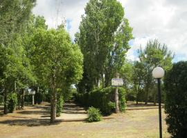 Camping Le Rebau, Montblanc