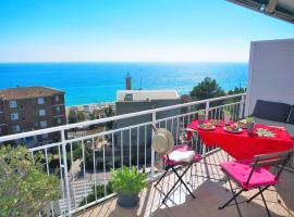 Nuria Seaview Beach-Apartment, Montgat