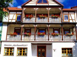 Pension Kurhausblick, Bad Suderode