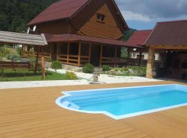 Guest House in Carpathians, Migovo