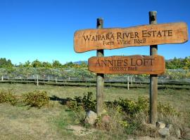 Annie's Loft and Studio, Waipara