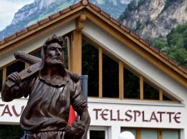 Hotel Tellsplatte, Sisikon