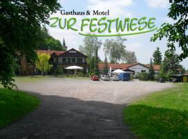 Motel Zur Festwiese, Gierstädt