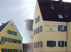 Gasthof zur Sonne, Jettingen-Scheppach