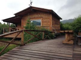 Cottage and Sauna in Baikal, Nikola