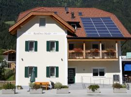 Residence Hasler, Campo di Trens