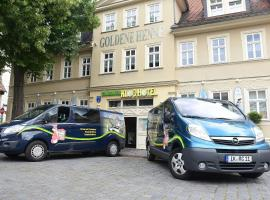 Hotel Goldene Henne, Arnstadt