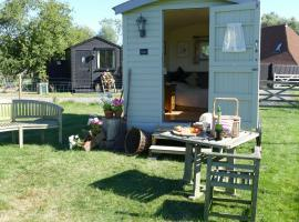 Darling Buds Farm Shepherds Hut, Bethersden