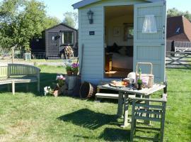 Darling Buds Farm Shepherds Hut, Bethersden