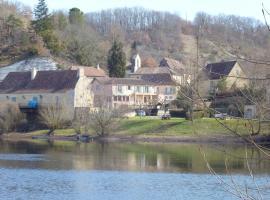 Hôtel-Restaurant Côté Rivage, Badefols-sur-Dordogne