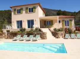 Villa Mimosa, Roquebrun