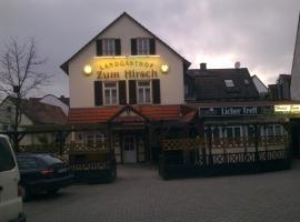 Hotel zum Hirsch am Bahnhof, Oberursel