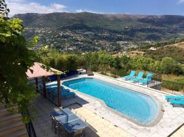 Villa Californienne à Nice, Saint-Roman