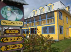 Gîte des Hauteurs et Café de la place, Saint Zenon