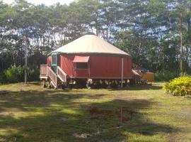 The Peaceful Yurt, Keaau