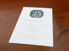 Number 25 Bed and Breakfast, Cranfield