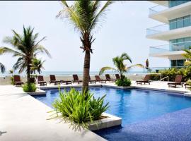 RentaElite 2 BR Ocean Front, Cartagena de Indias