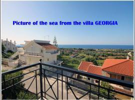 Villa Georgia, Sarláta