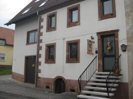 Martinas-Gästehaus, Хорнбах