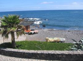 Caleta Interian Playa, Caleta de Interián