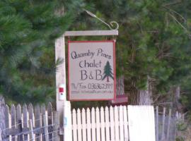 Quamby Pines Chalet, Quamby Brook