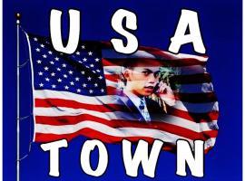 USA Town, Bauan